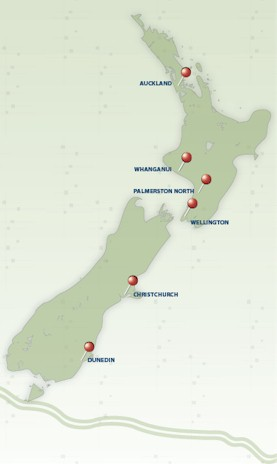 map of tobacco control research centres
